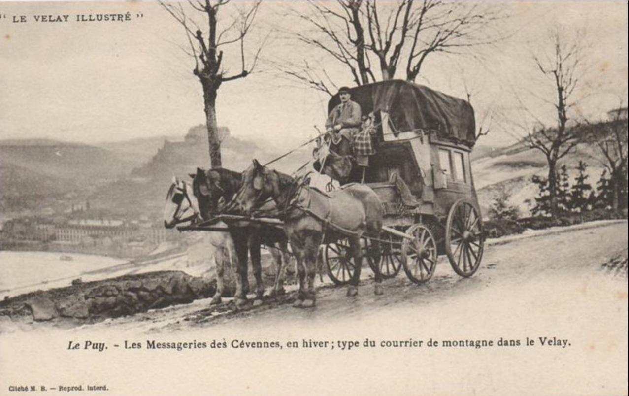 Avant la poste en Haute -Loire