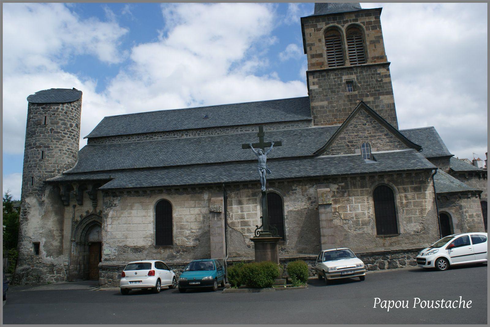 Eglise Saint Jean-baptiste d'Allanches à Allanche (15)