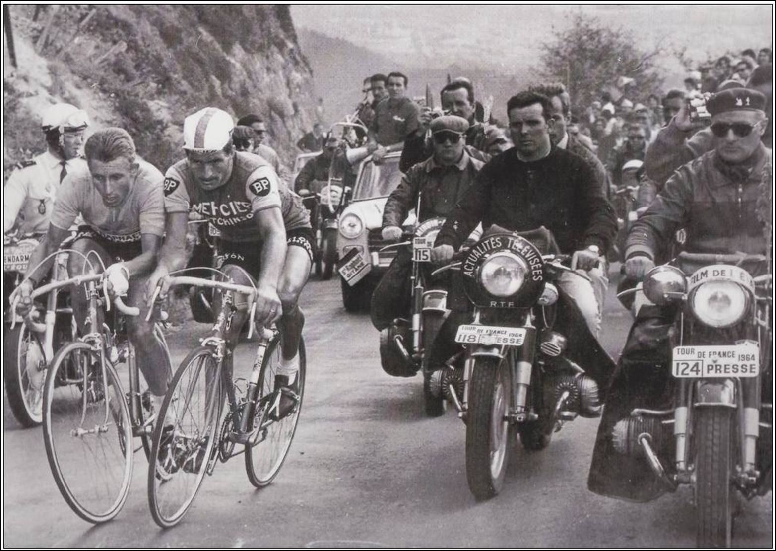 Tour de France:Duel Poulidor Anquetil au Puy de Dome