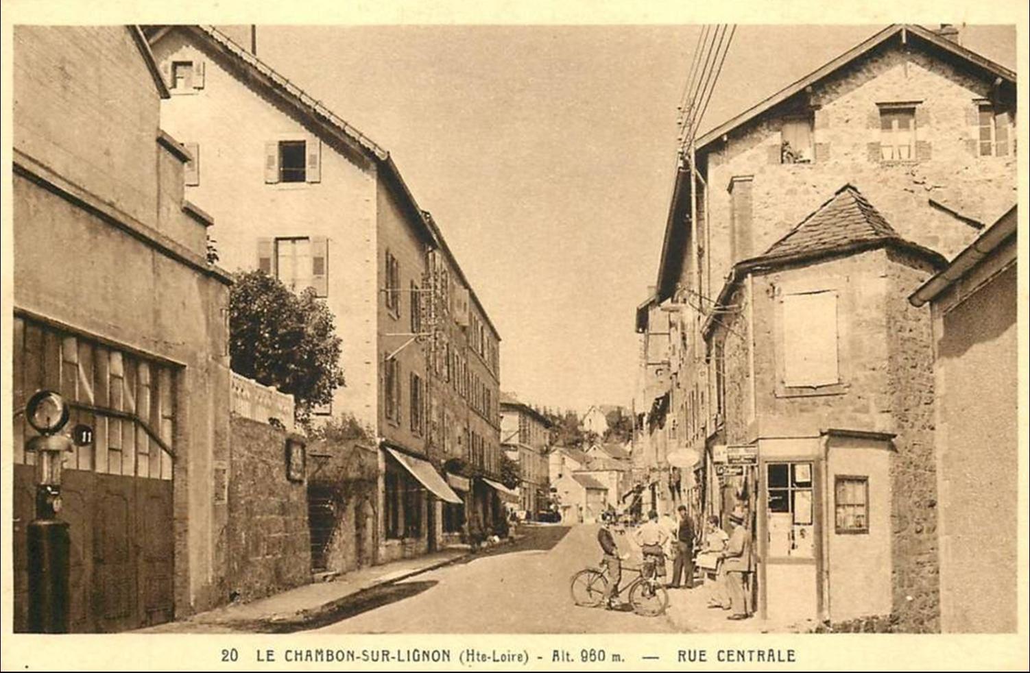 Au hasard dans les rues du Chambon sur Lignon
