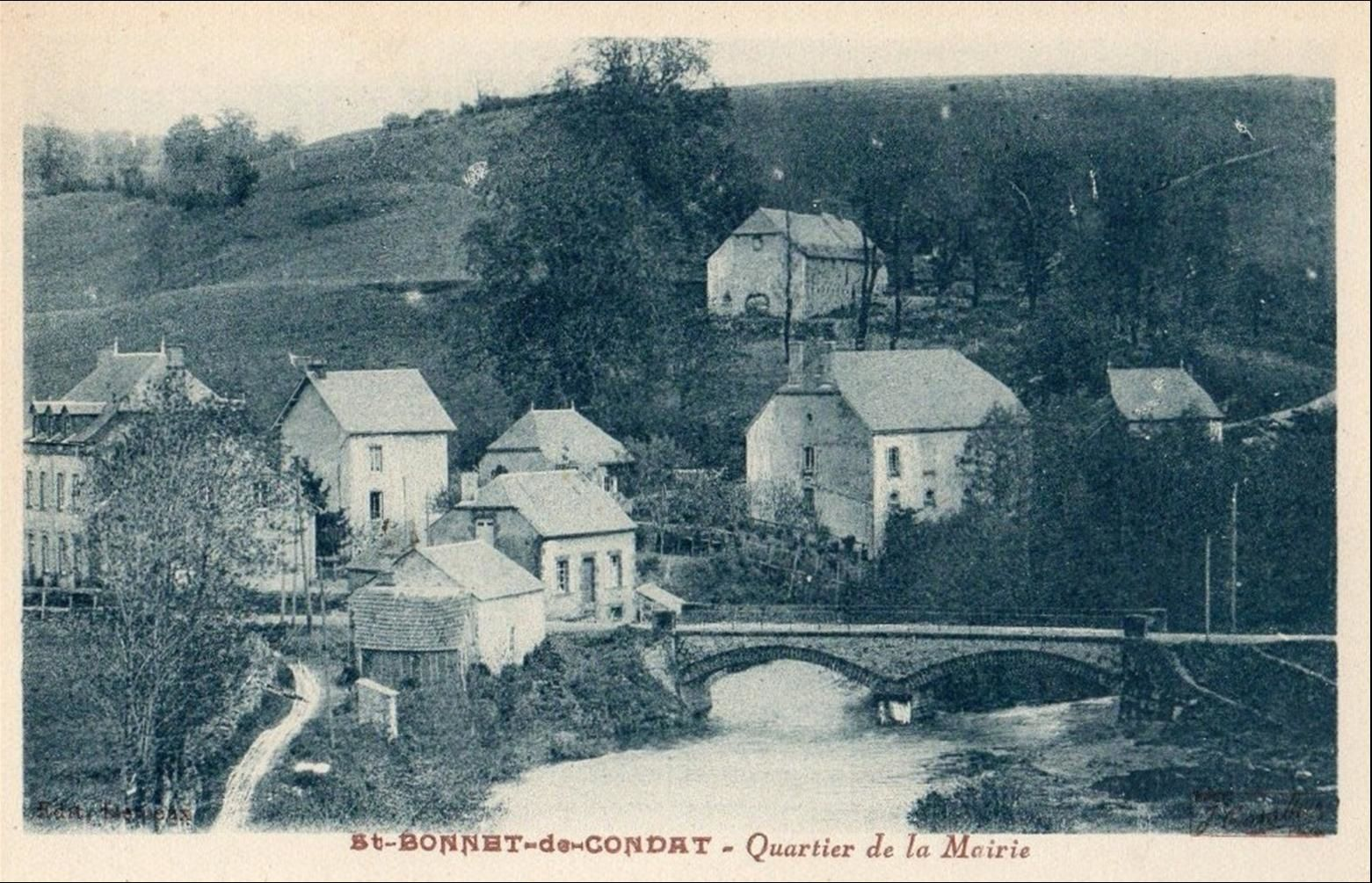 Les villages du Cantal: St Bonnet de Condat