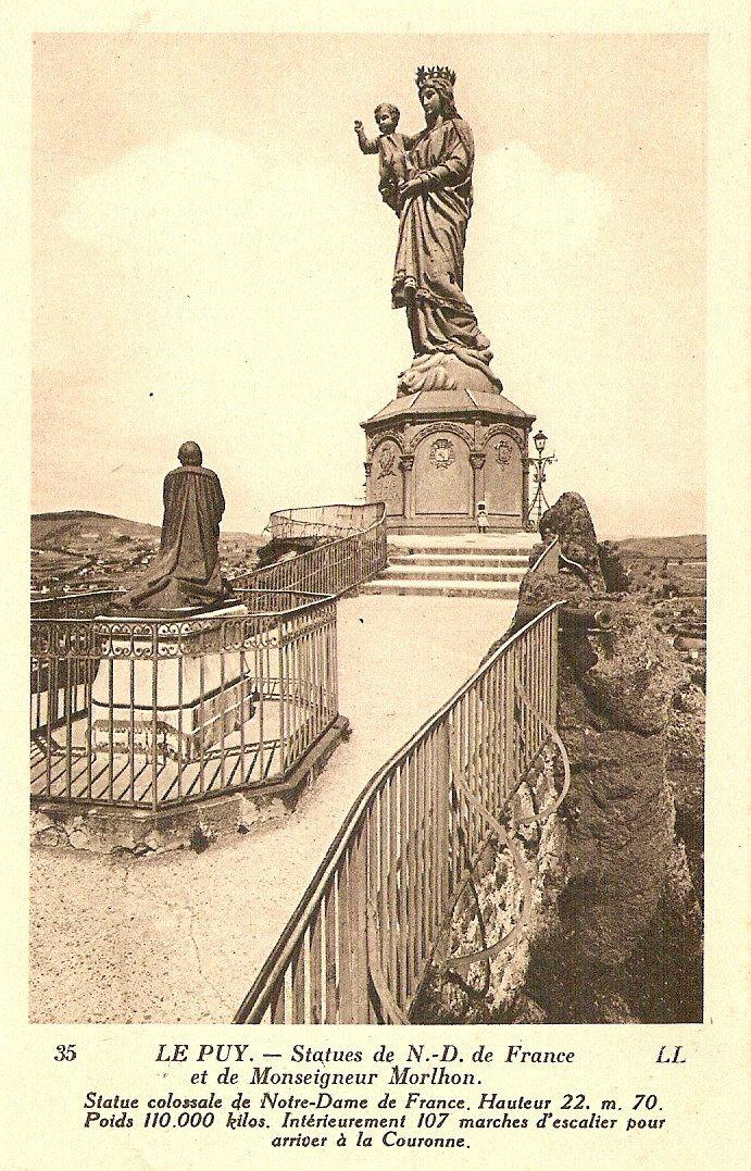 La vierge du Puy en Velay