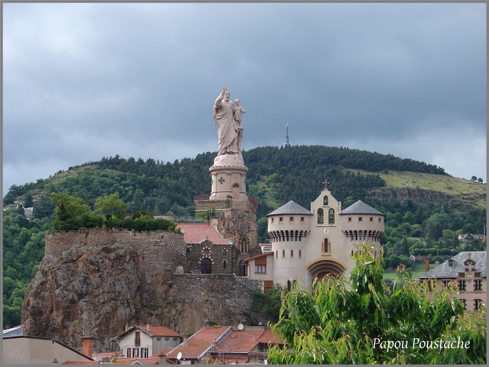 Patrimoine auvergnat: La statue Saint Joseph à Espaly