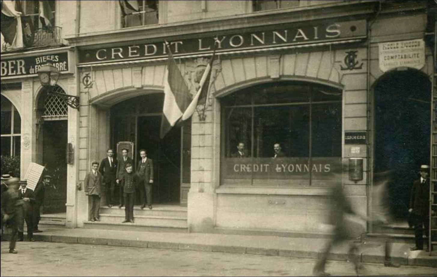 Crédit Lyonnais au Puy en Velay