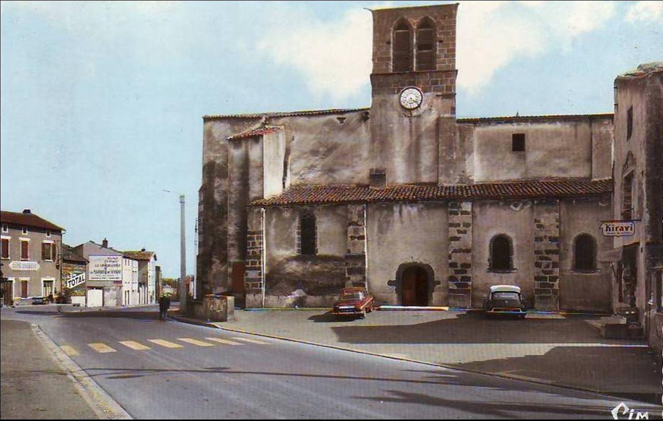 Les rues de St Bonnet près de Riom
