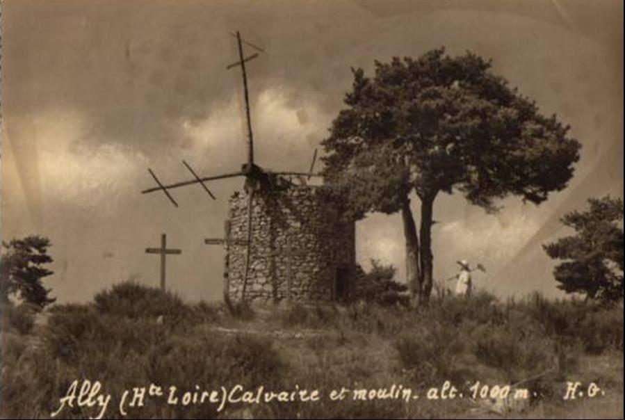 Les moulins à vent d'Ally