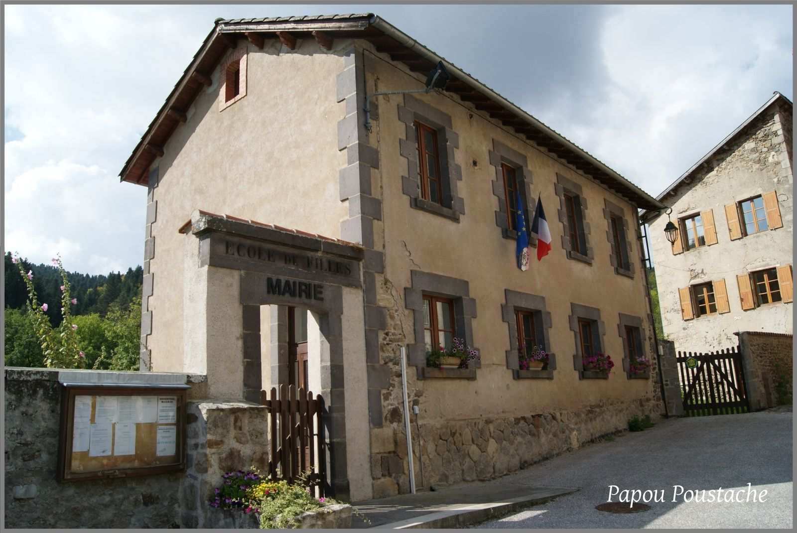 Les villages de Haute-Loire: Saint Vert