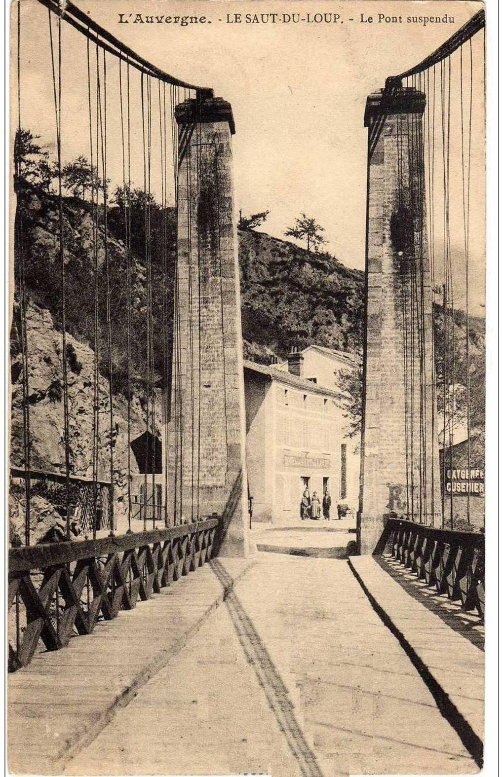 Le pont du Saut du Loup