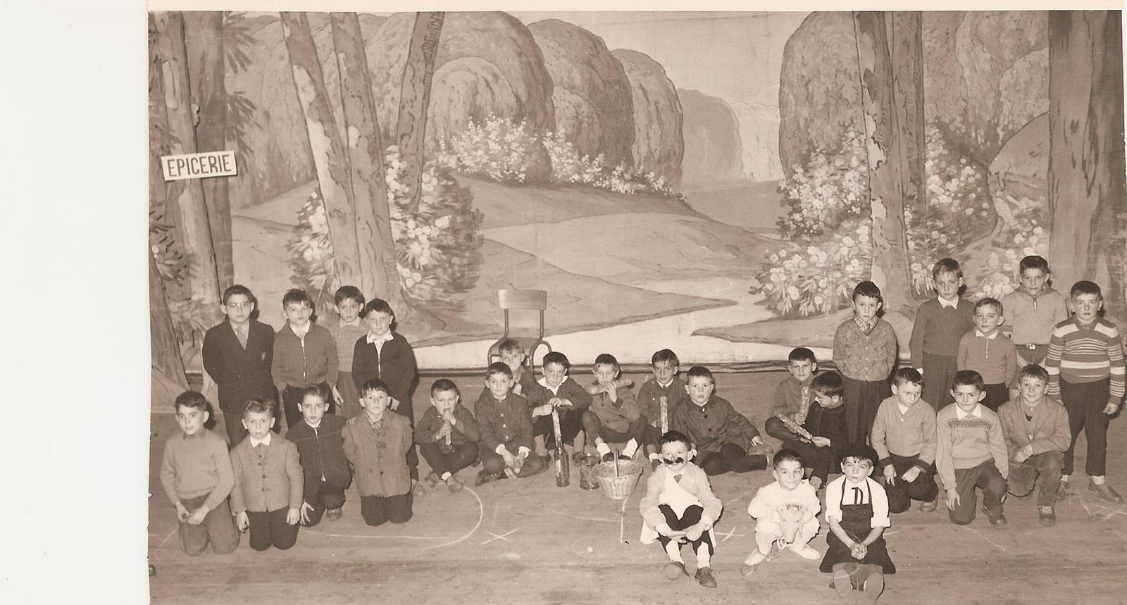 Les fétes de l'école à Brassac les mines