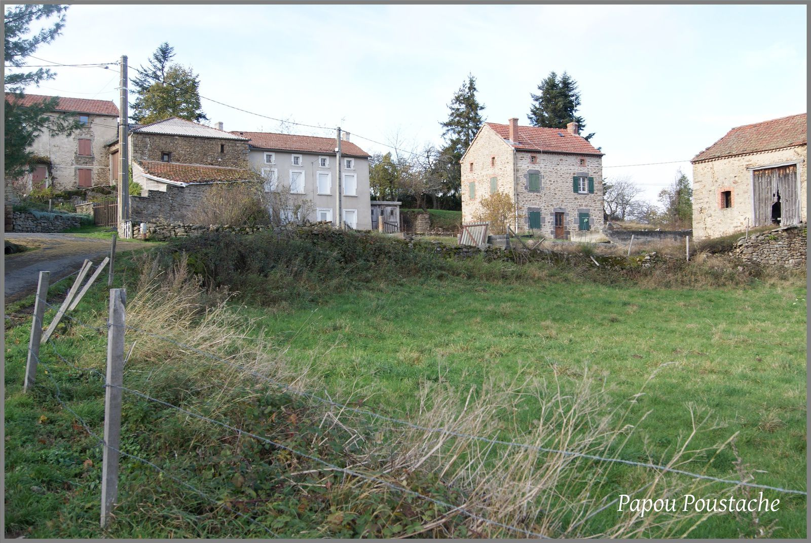 Les villages de Haute-Loire:Mercoeur