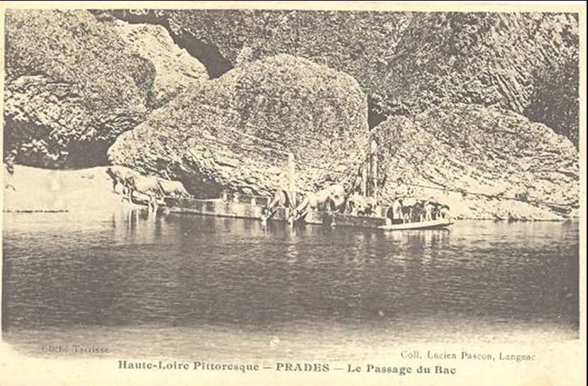 Cartes postales anciennes de Prades en Haute-Loire