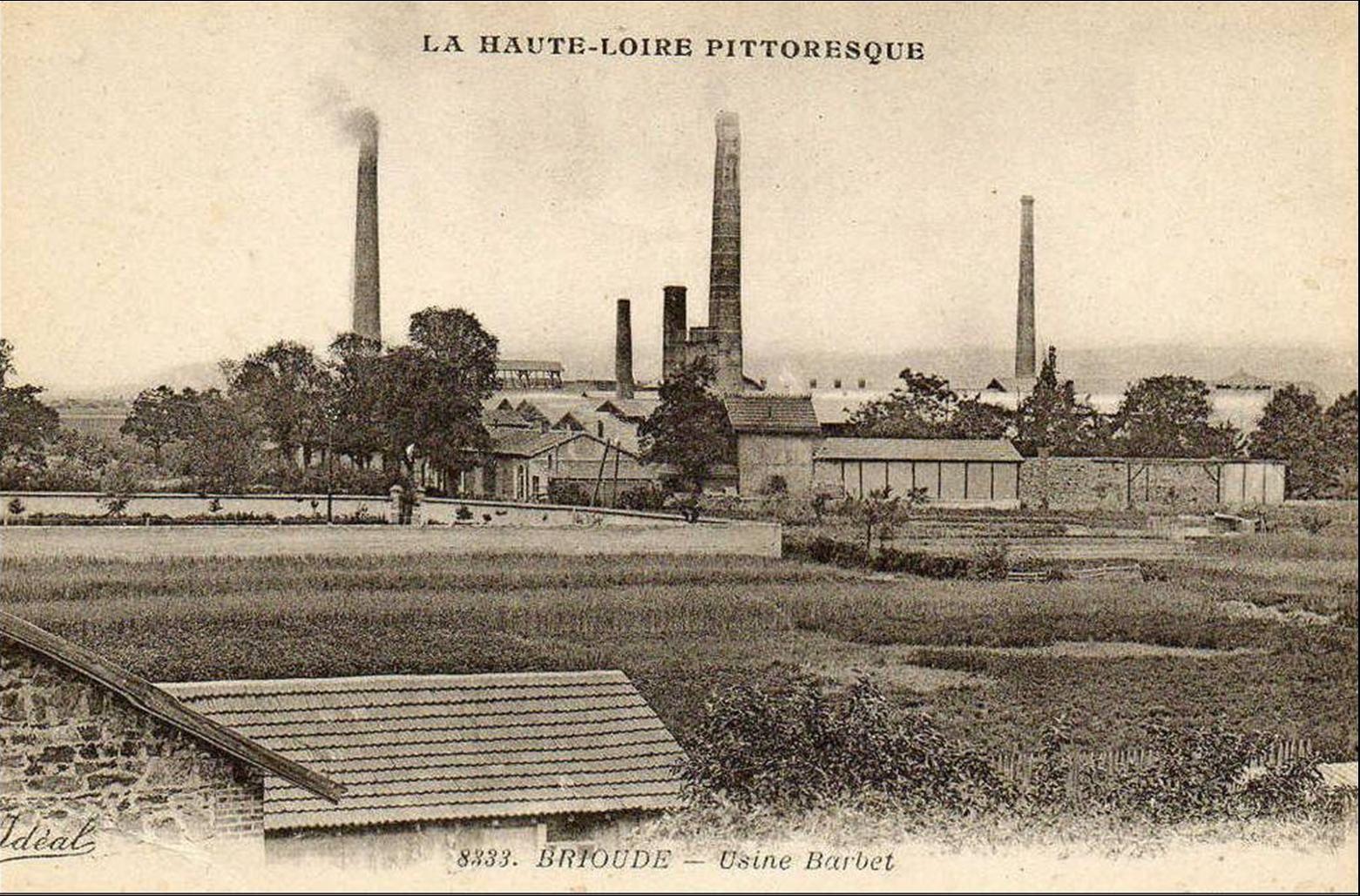 Fonderie d'antimoine à Brioude