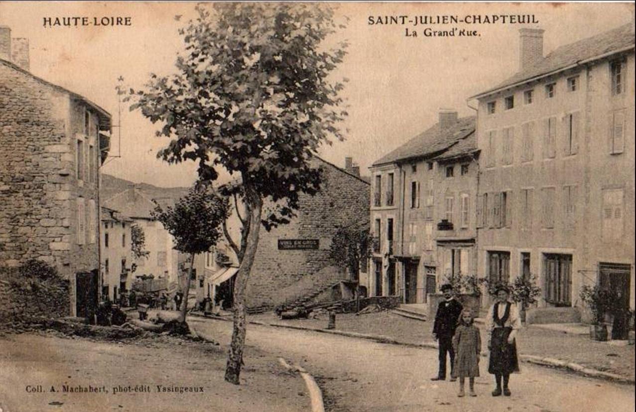 C'était avant hier à St Julien Chapteuil