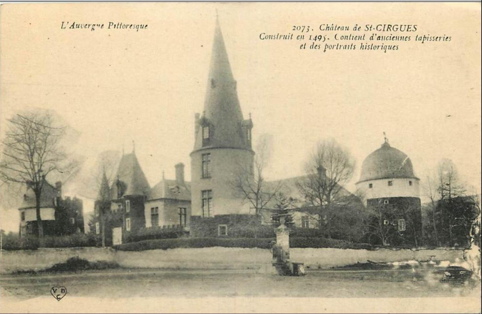 Saint Cirgues d'autrefois
