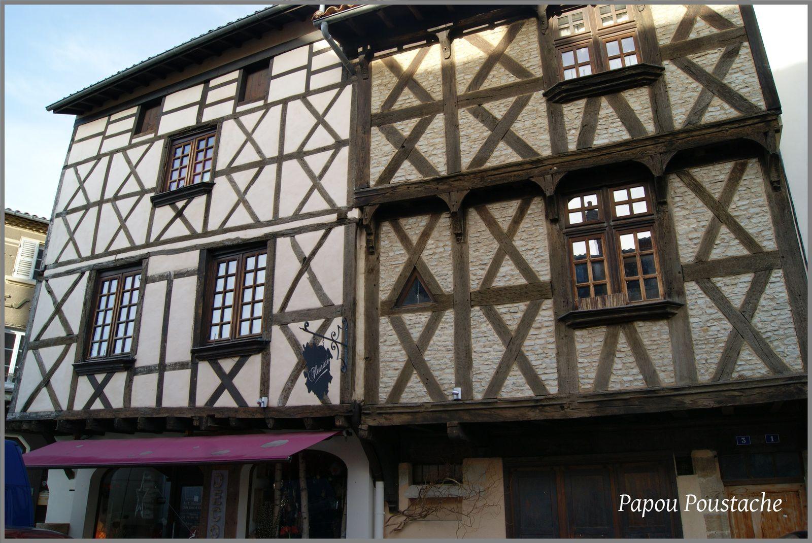 Les vieilles maisons à Billom