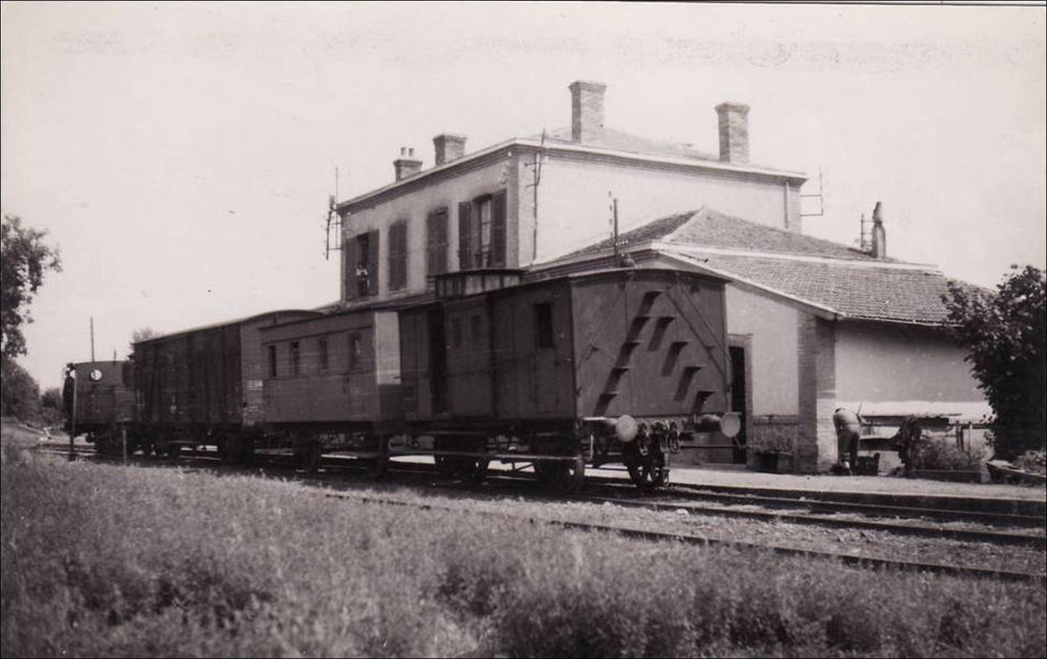 La gare de Billom