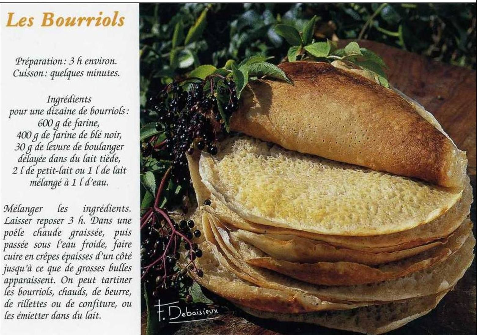 La cuisine traditionnelle auvergnate:Le Bourriol