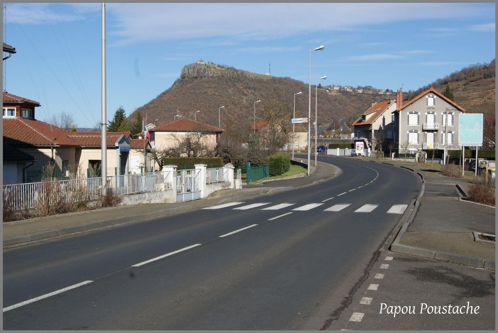 Les rues de Massiac
