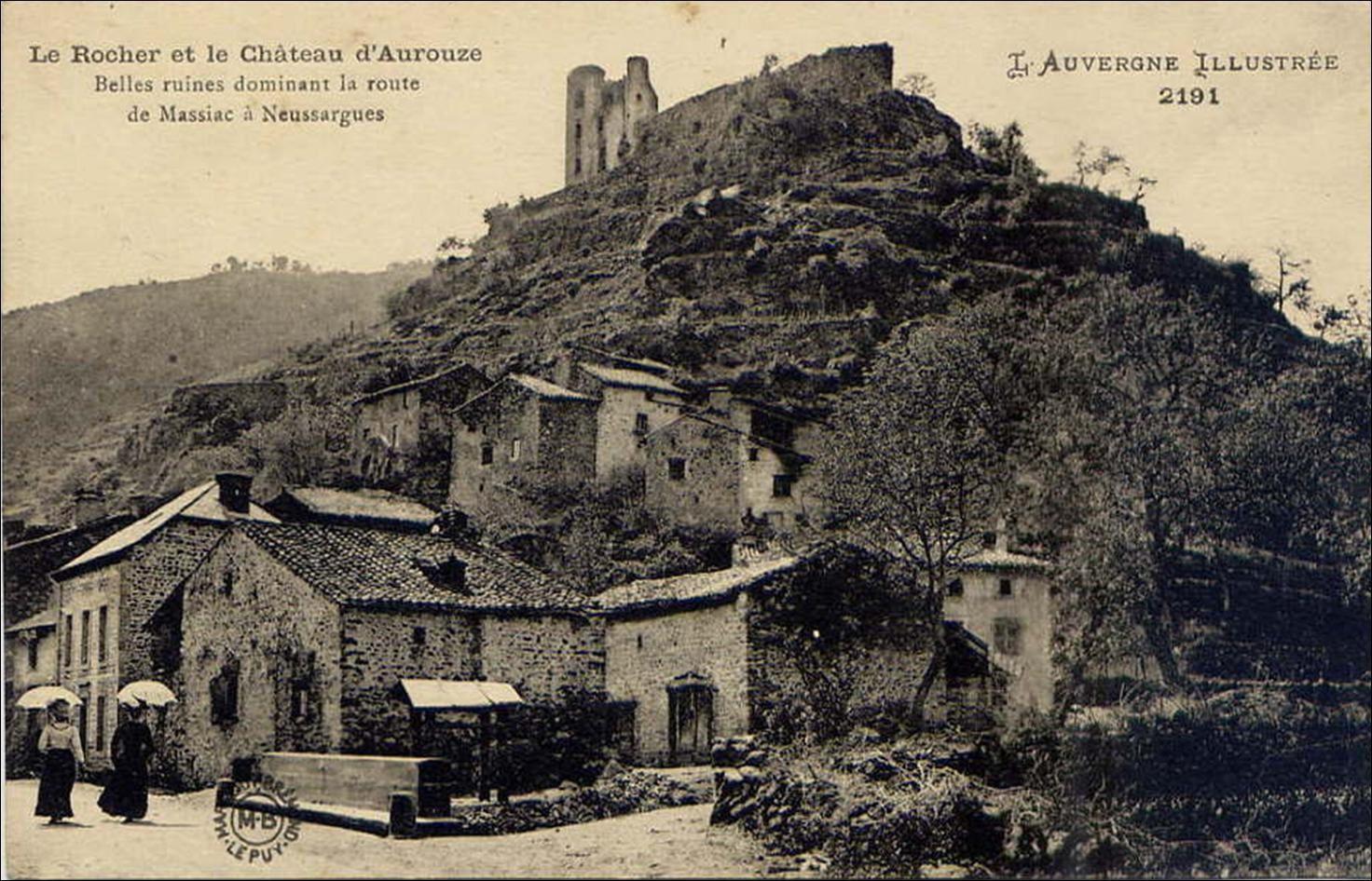 Le château d'Aurouze
