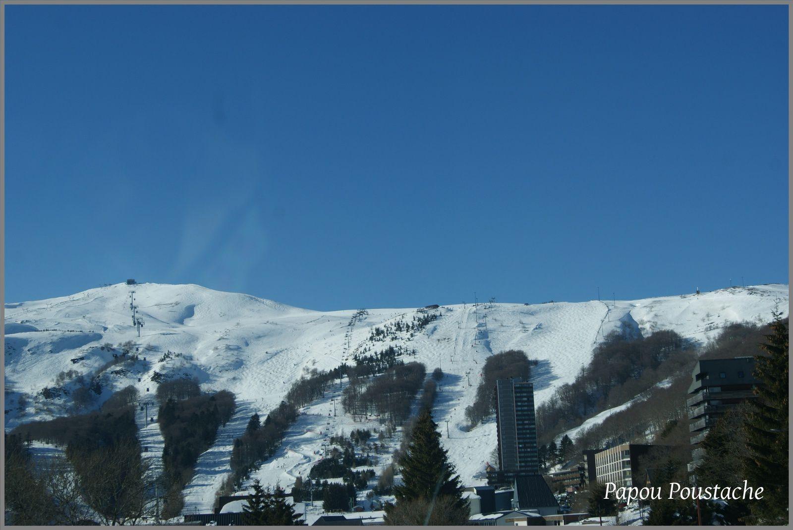 Le ski en Auvergne