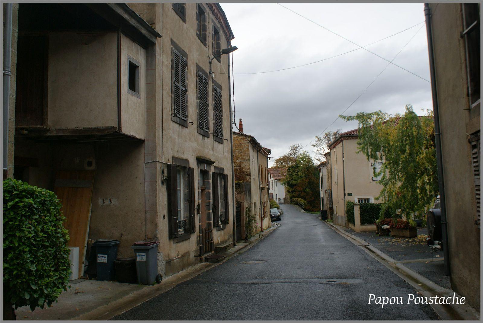 Les rues des Pradeaux