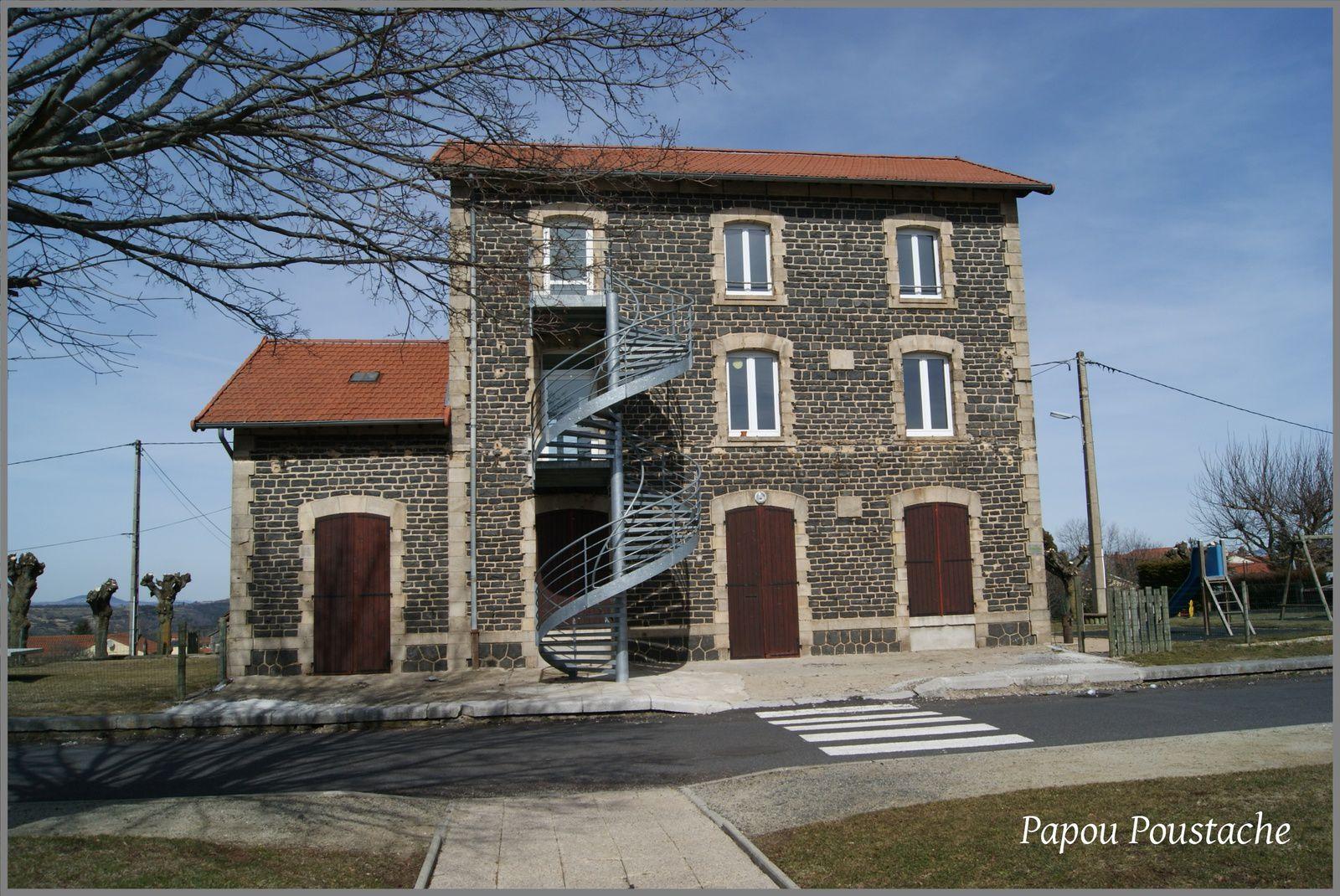 La gare de Solignac sur Loire