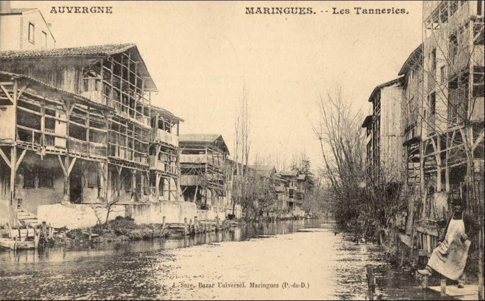Les tanneries de Maringues