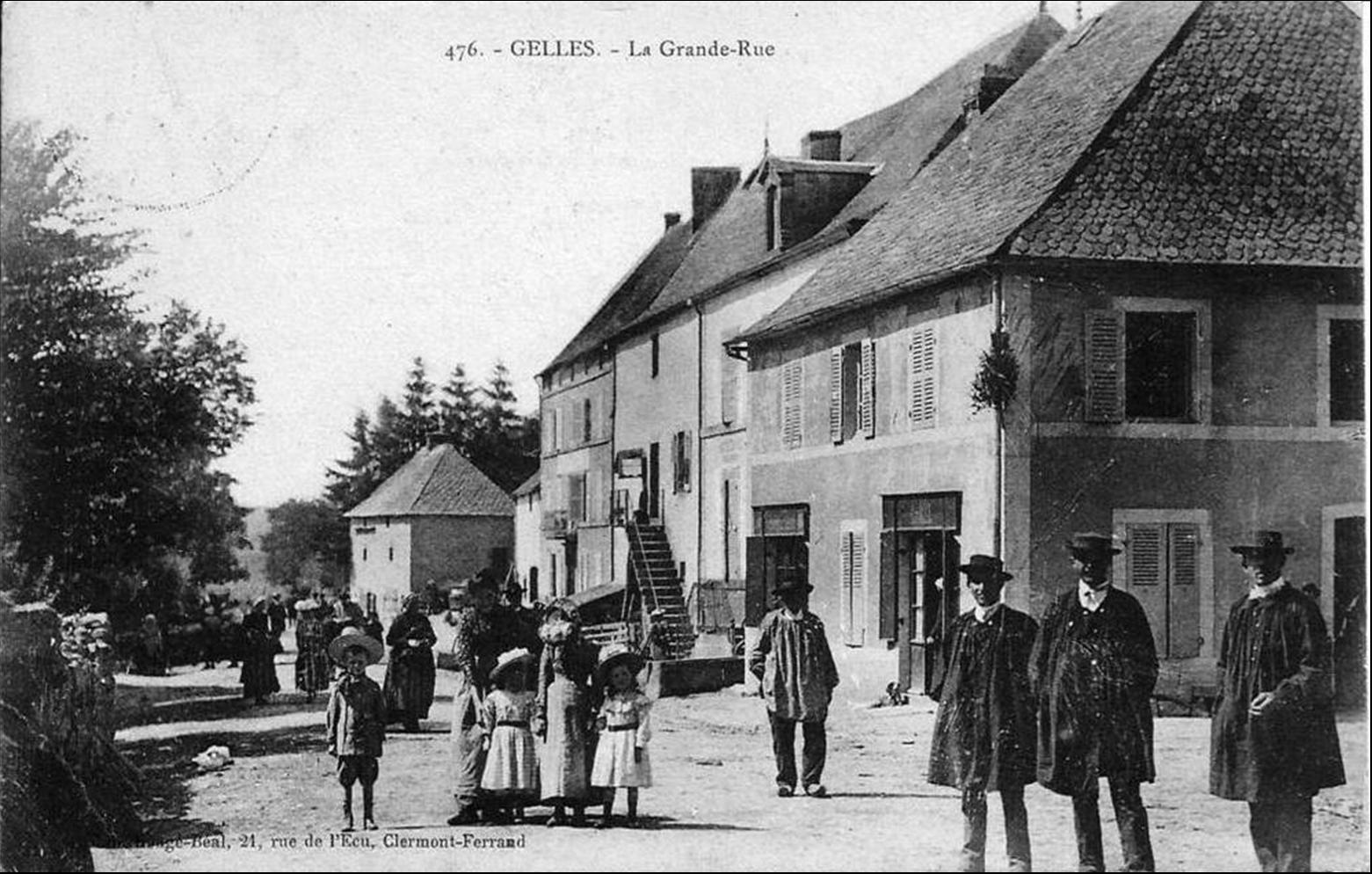 Il était une fois l'Auvergne: Gelles dans le Puy de Dôme