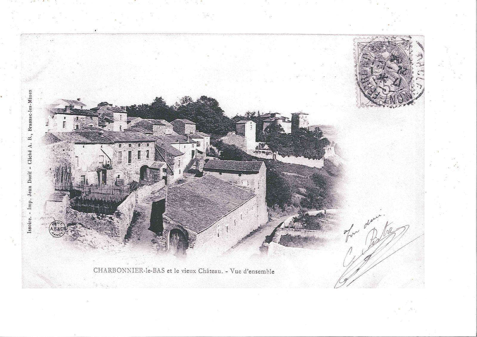 Le Château de Charbonnier et la Commanderie