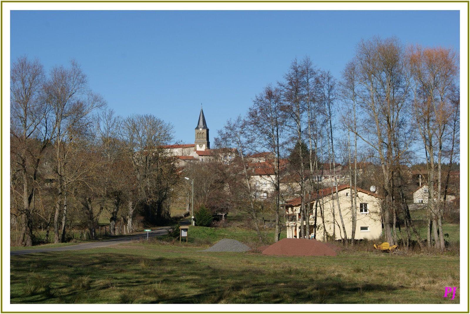 Le village de Vernassal