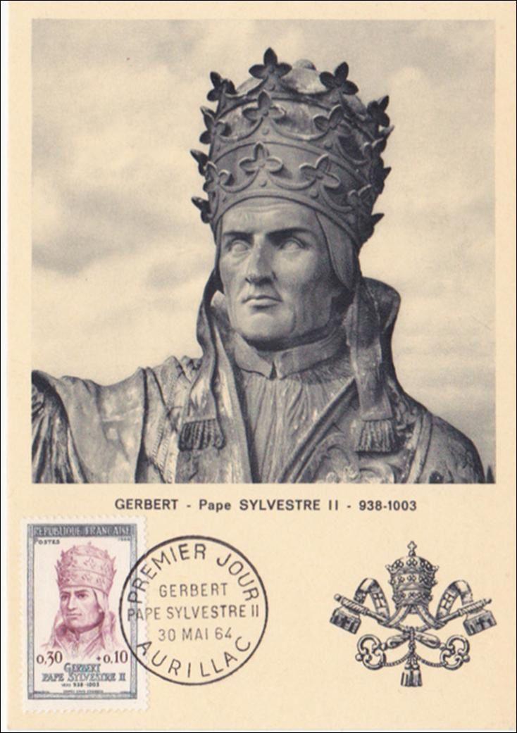 Un pape Auvergnat Sylvestre 2