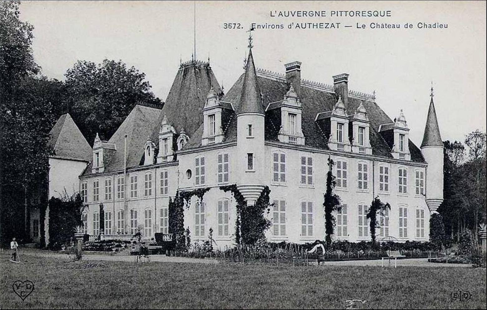 Le chateau de Chadieu