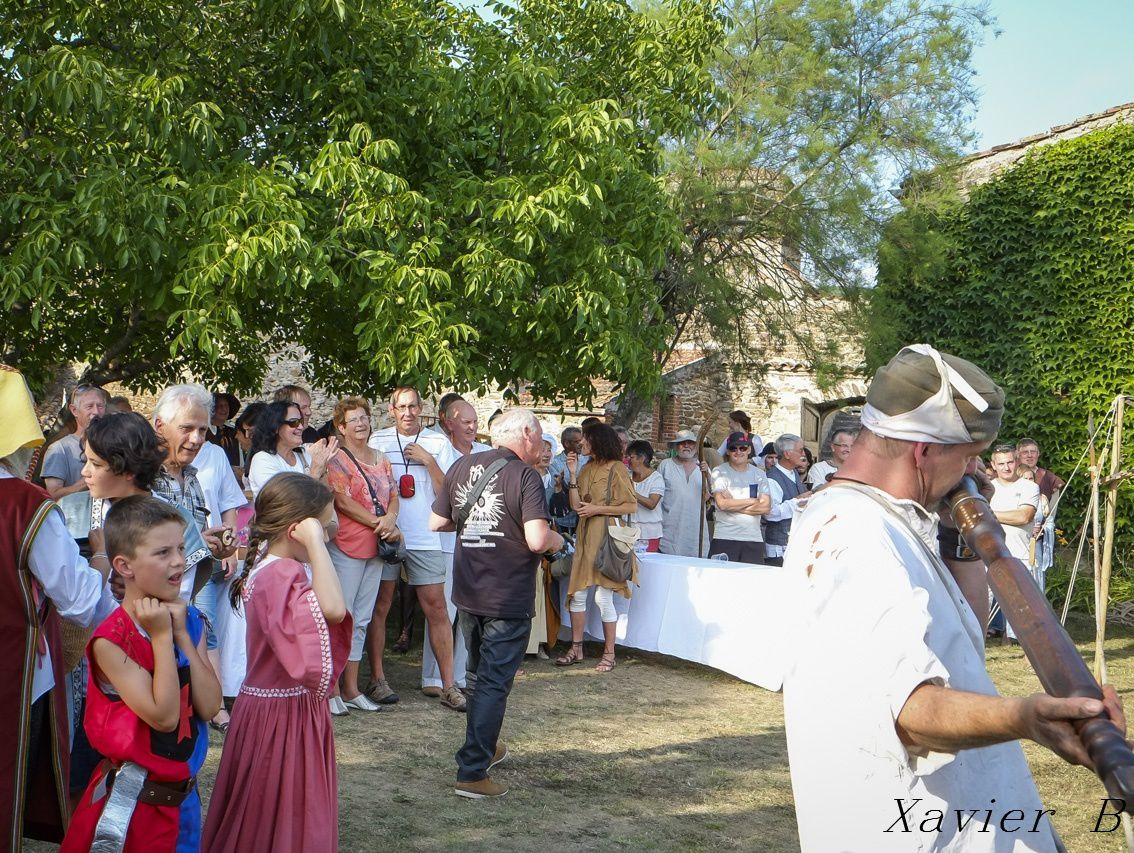 Photos de la fête médiévale à Auzon