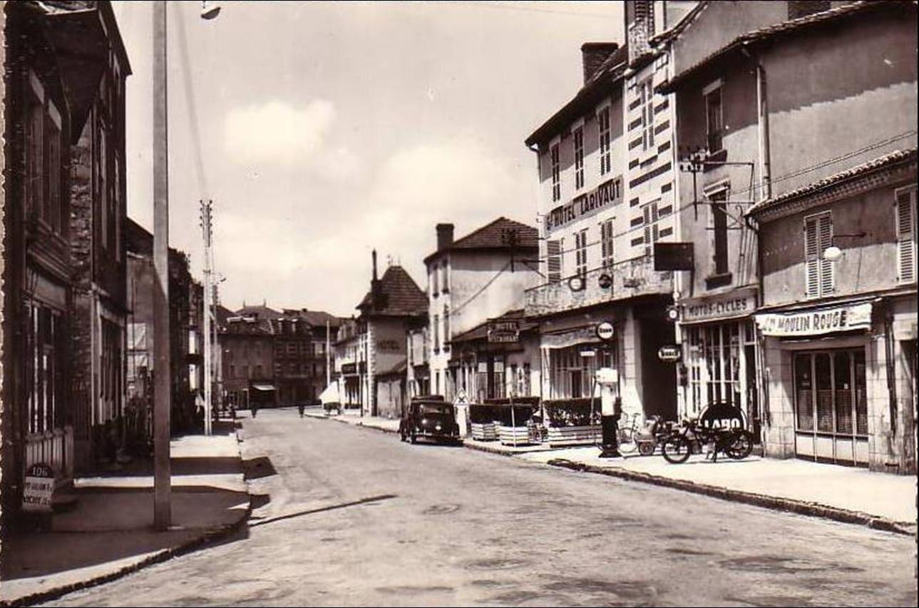 Puy Guillaume aux années 1950-60