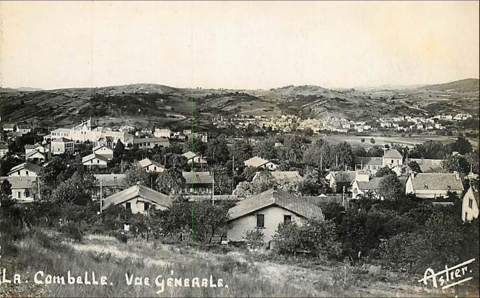Auzat-Lacombelle dans les années 1950-60