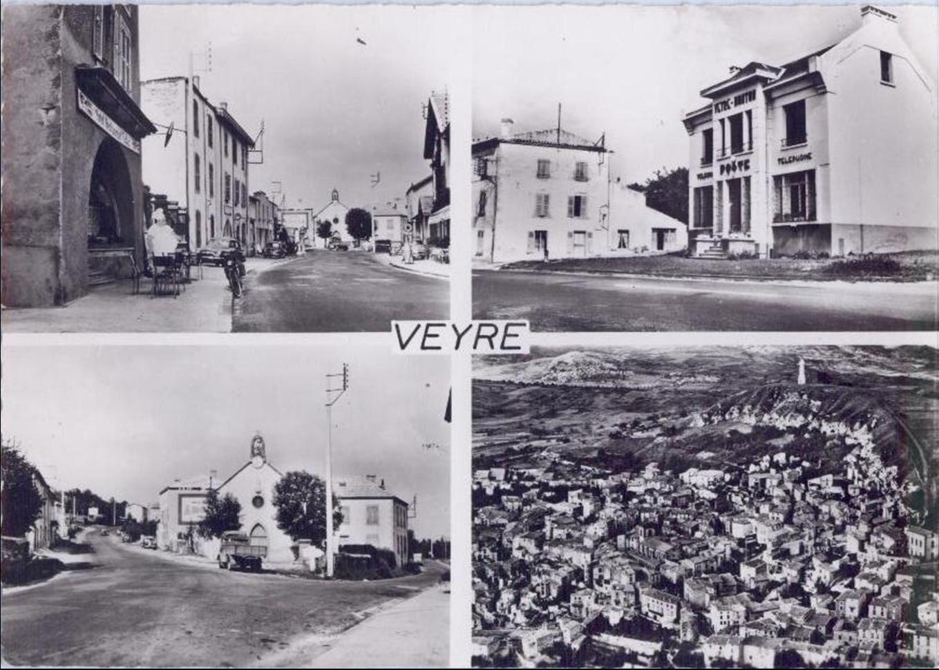 Martres de Veyre et Veyre aux années 50-60
