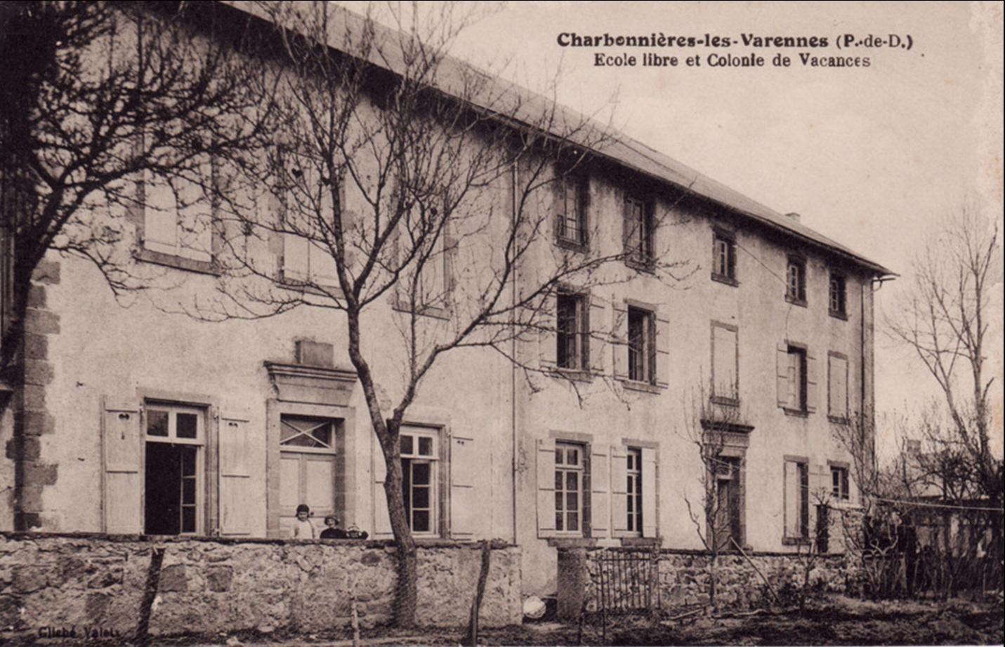 Charbonnières les Varennes d'autrefois