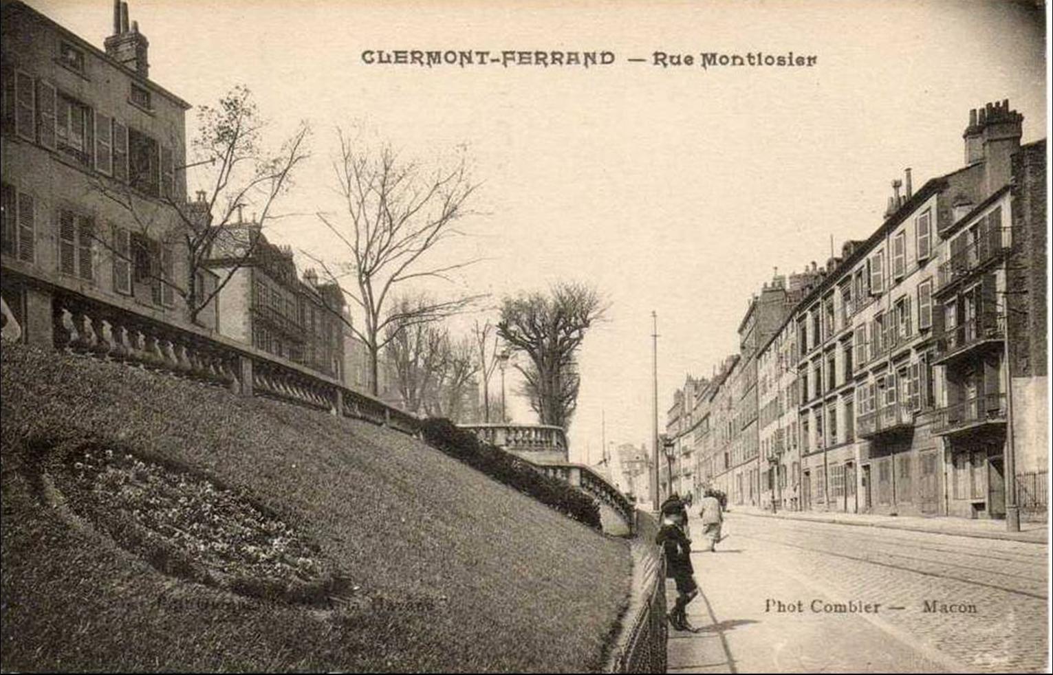 Il était une fois Clermont:Rue Montlosier