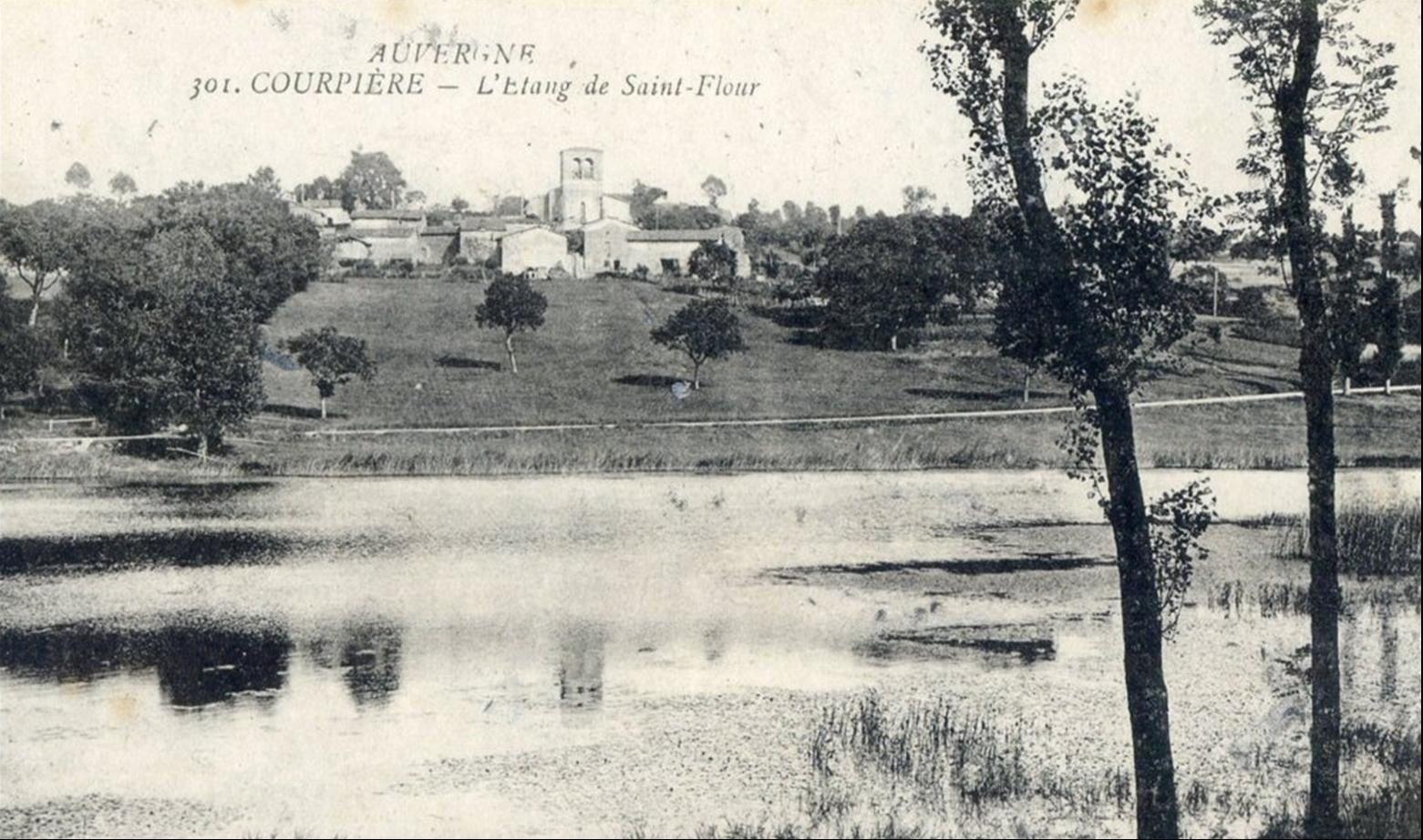 Saint Flour l'étang