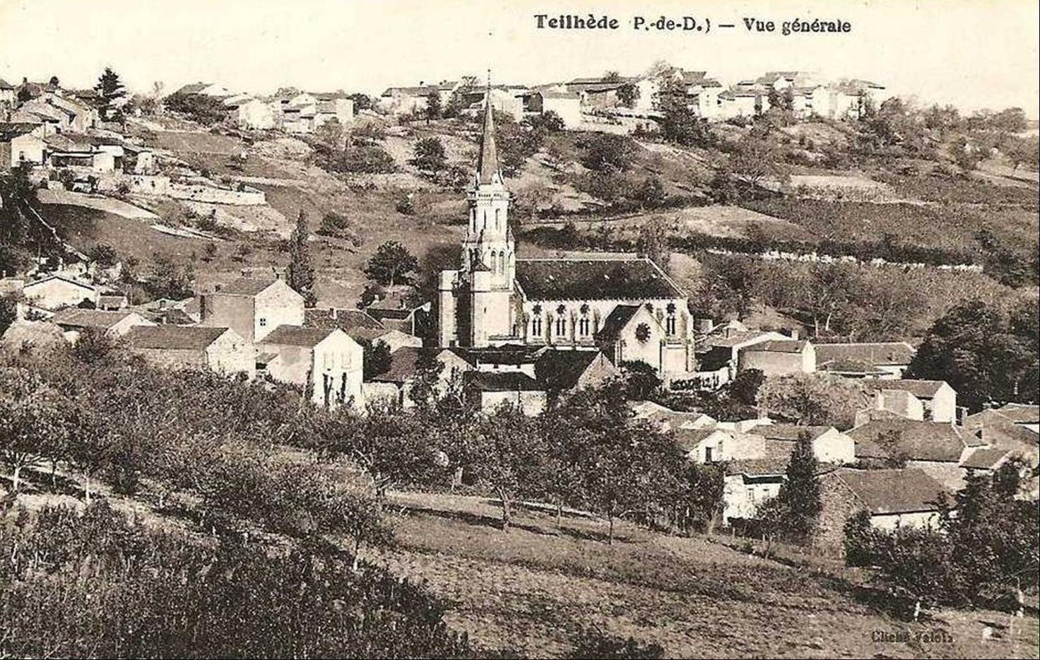 Teilhède et Prompsat  d'autrefois