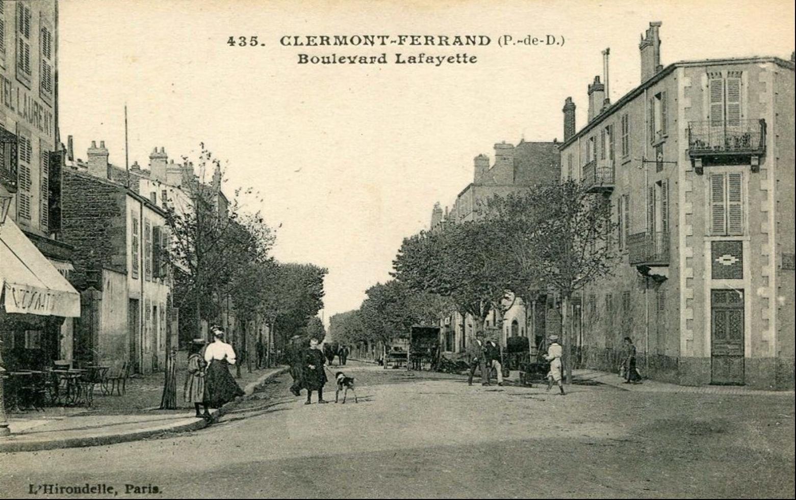 Boulevard Lafayette à Clermont Ferrand