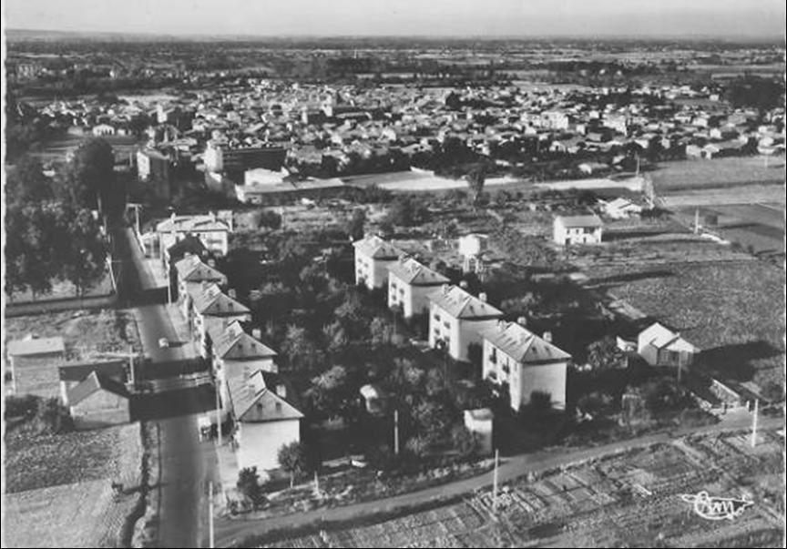 Gerzat en 1950-60