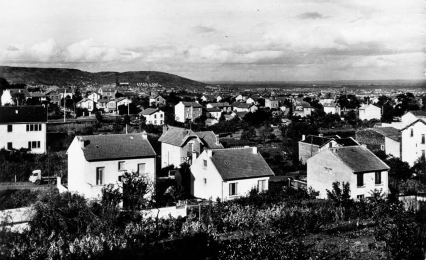 Beaumont dans le Puy de Dome aux années 1950-60