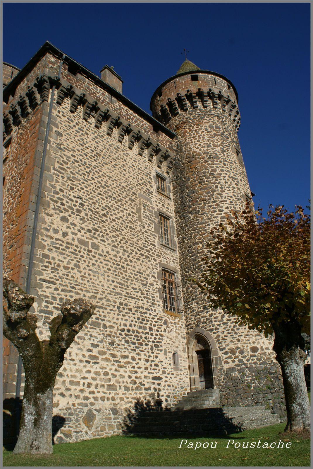 Château du village  Les Ternes dans le Cantal