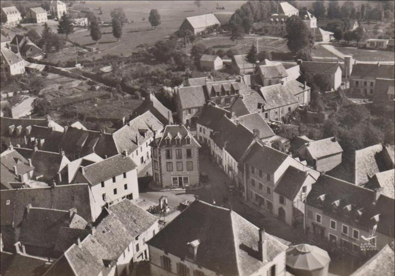 Tauves dans les années 1950-60