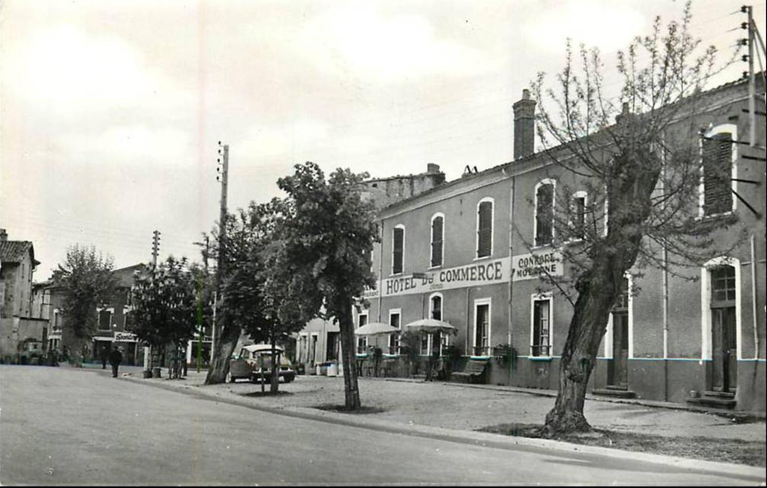 Courpière dans les années 50-60