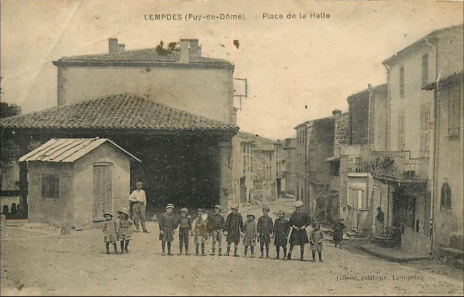 Lempdes dans le Puy de Dome