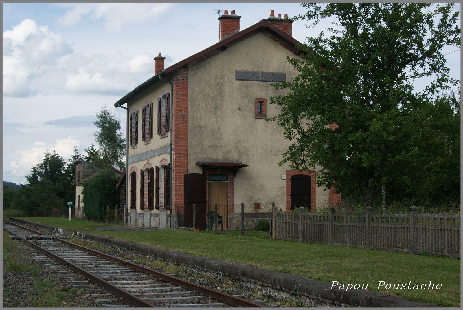La gare de Saint Alyre d'Arlanc