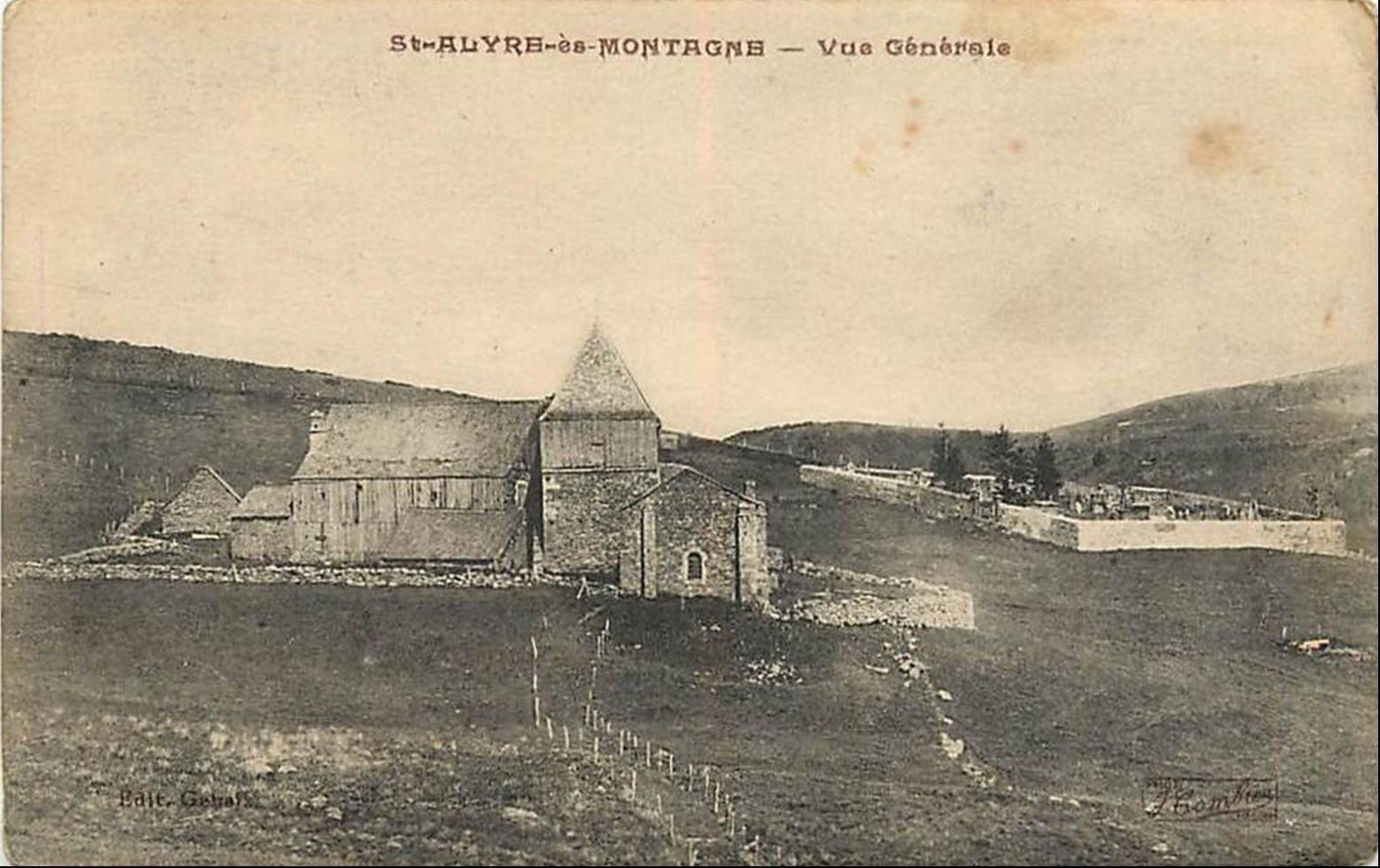 Saint Alyre Es Montagne et alentours