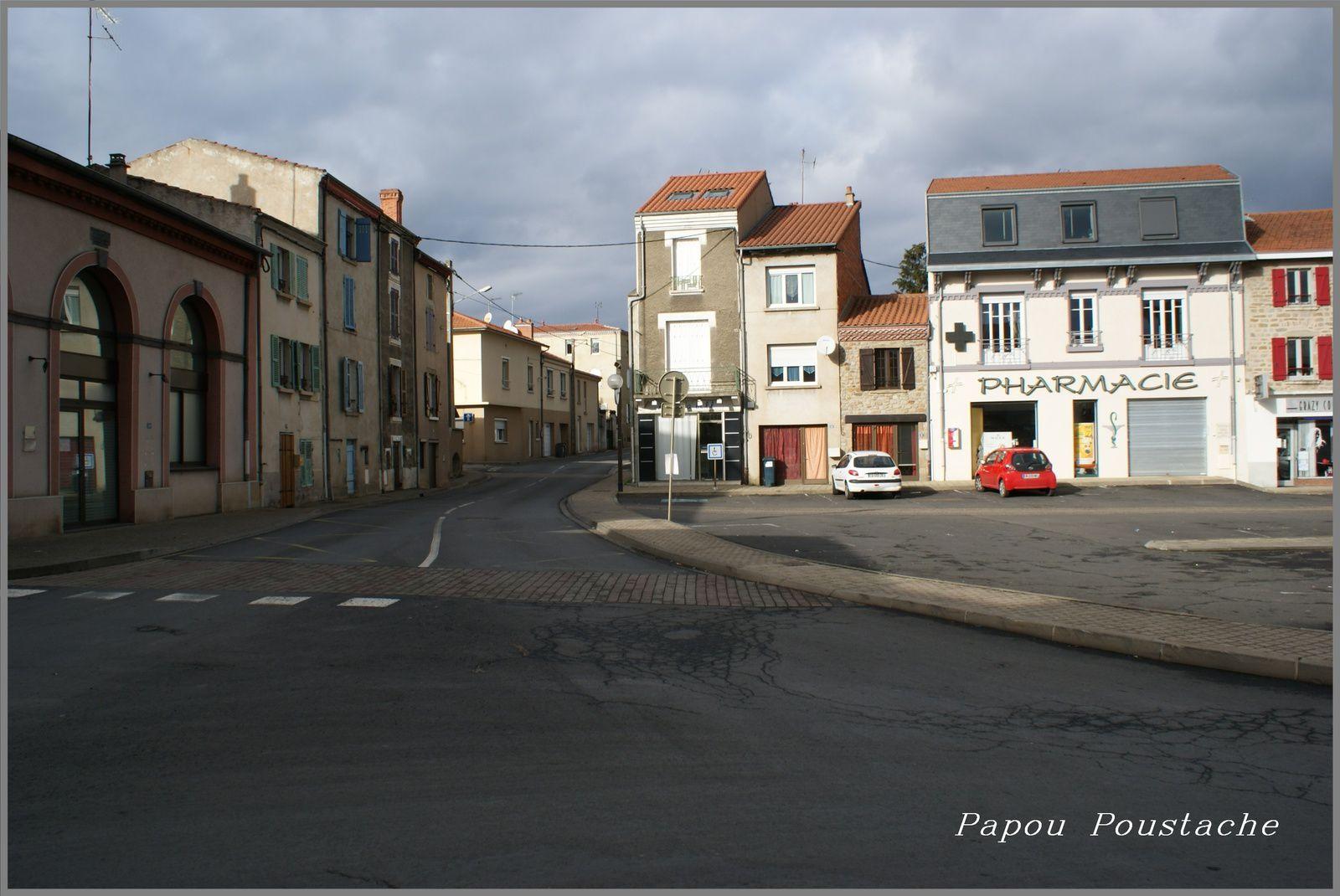 Le village de Ste Florine en Haute Loire